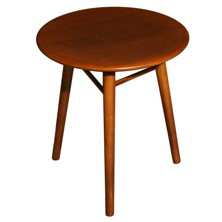A Dunbar Three Legged Round Side Table